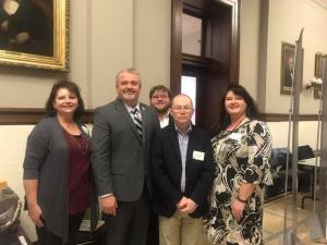 Yesterday, I had privilege of meeting this wonderful group with Northeast Mississippi Library System, including Ms Hood from the George E. Allen Library in Booneville.