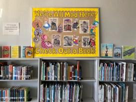 Tishomingo Library April Display