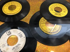 Jerry Lee Lewis records from Sun Records in Memphis