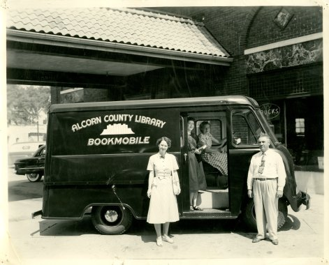 Alcorn County Library Bookmobile