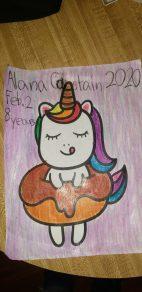 Alana Chastain, 8