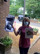 CurbSide copying at the Iuka Library