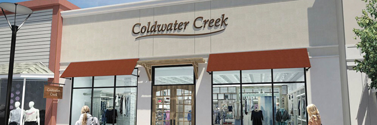 Coldwater Creek Outlet Locations