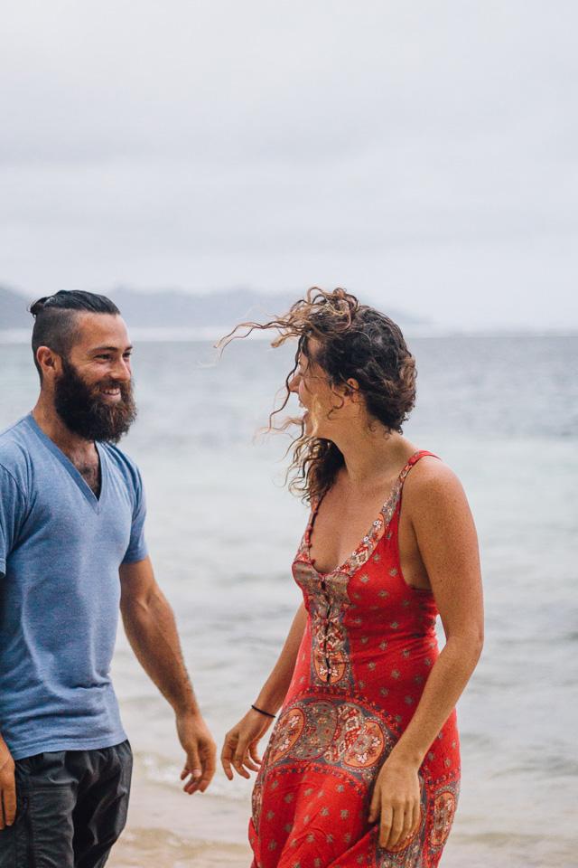 Beard and Curly