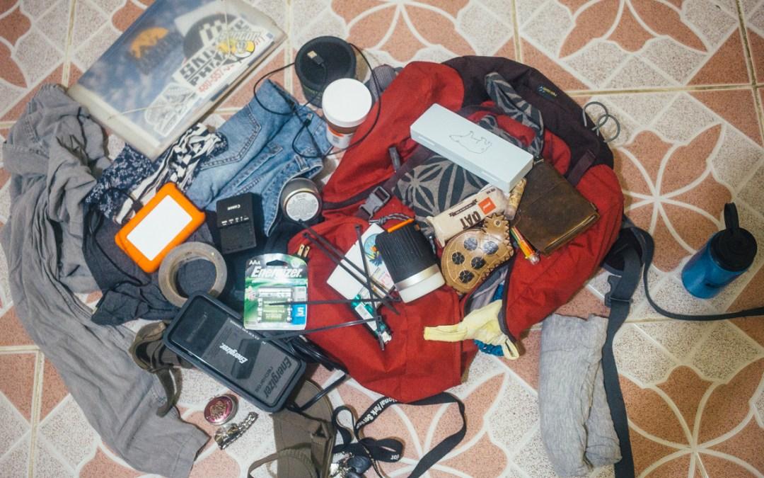 My Cyclone Evac Kit List