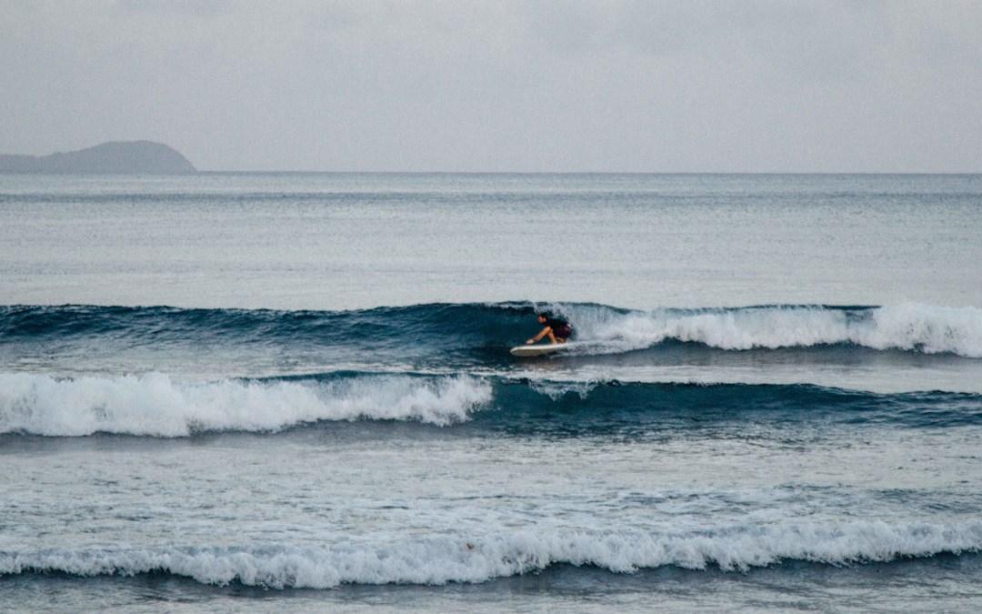 Surf Session Post Cyclone Gita