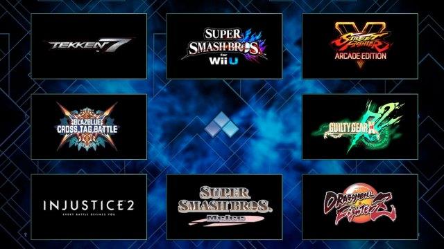 EVO 2018 Lineup