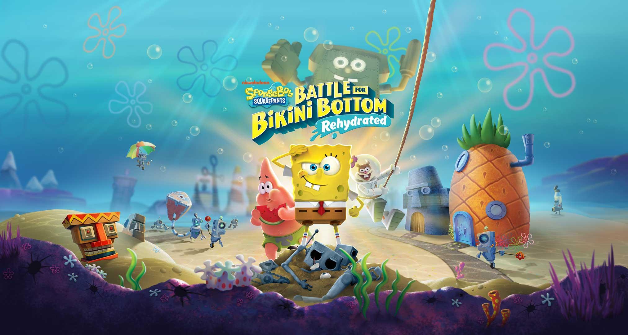 Spongebob Squarepants: Battle for Bikini Bottom Re-Hydrated