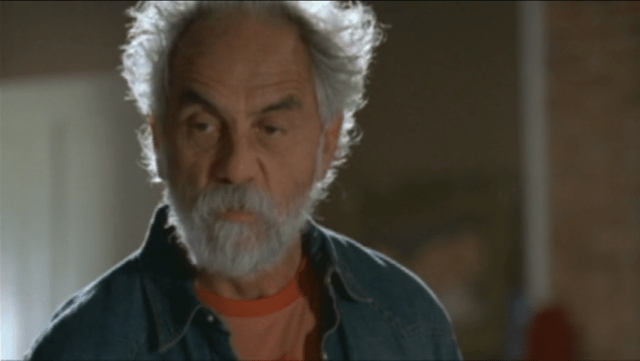 A rare moment of sobriety before Tommy Chong gets stoned. Again.