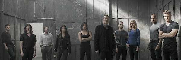C'mon now, you guys and gals are Agents of S.H.I.E.L.D., not posing for an angry rap album. Lighten up!