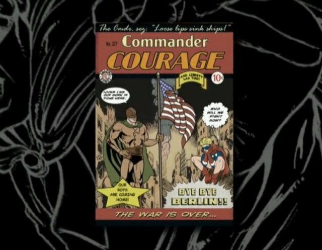 To watch Comic Book the Movie, you will need courage, Commander Courage that is!