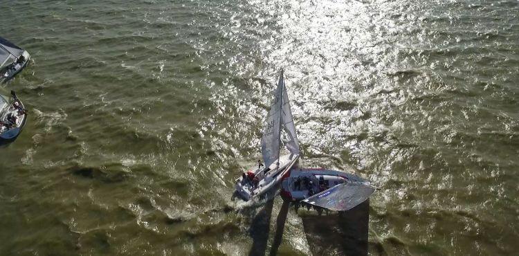 kursiu mariu regata 50 susidurimas