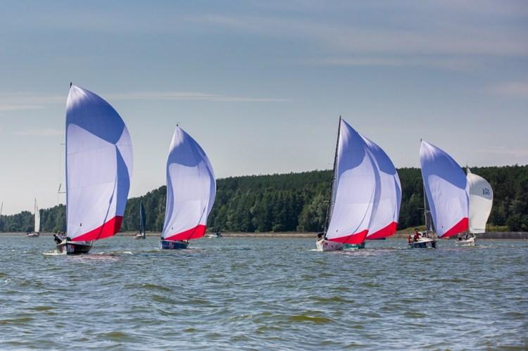 52-oji Kuršių marių regata startas