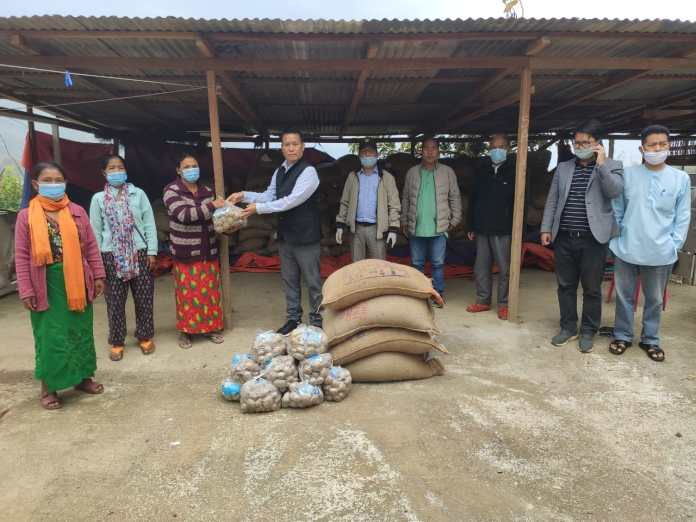 Manipur minister visited areas along Indo-Myanmar border