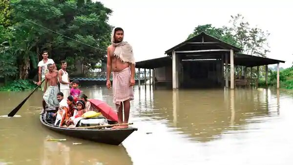 Assam in the grip of the second wave of flood
