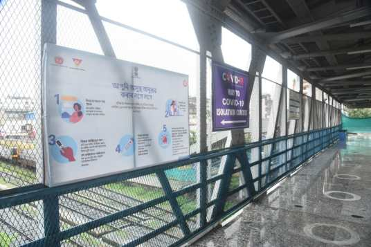 Assam: NF Railway joins hands with UNICEF to spread awareness on COVID-19 appropriate behaviours