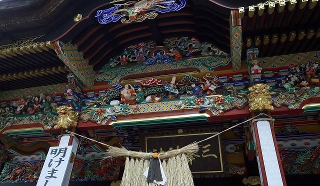 御朱印おやぢ・真冬の標高1100メートルにある秩父・三峰神社