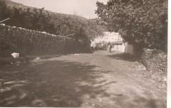 Δρόμος στο χωριό - τζαμί