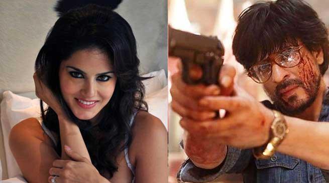 जब सनी लियोनी ने शाहरुख खान के डायलॉग का किया डबस्मैश !