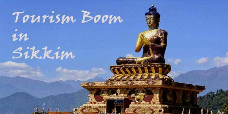 सिक्किम- 15 वर्षों में पर्यटकों की संख्या हुई तीन गुनी