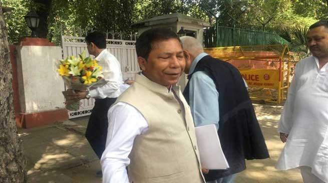 पूर्वोत्तर कांग्रेस नेताओं से मिले राहुल गाँधी