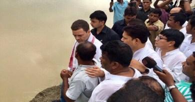 कांग्रेस उपाध्यक्ष राहुल गांधी का लखीमपुर दौरा