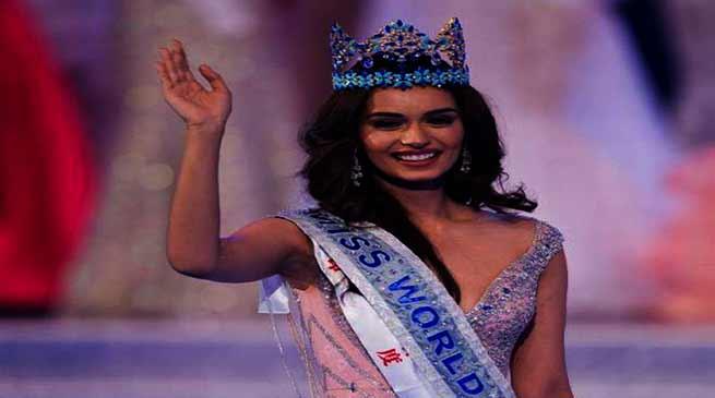 मिस इंडिया मानुषी छिल्लर ने मिस वर्ल्ड 2017 का खिताब जीतकर रचा इतिहास
