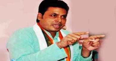 त्रिपुरा को भ्रष्टाचार मुक्त बनाएंगे- सीएम बिप्लब कुमार देब