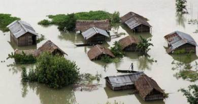 असम में फिर बाढ़ का प्रकोप, माजुली समेत 6 जिले प्रभावित