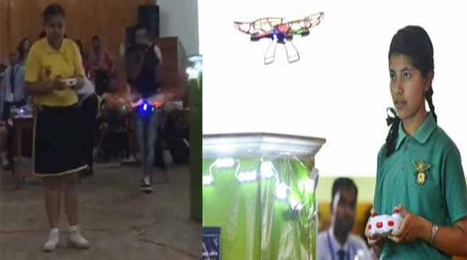 सिक्किम: PNGSS स्कूल ने करवाई अनोखी ड्रोन रेसिंग प्रतियोगिता