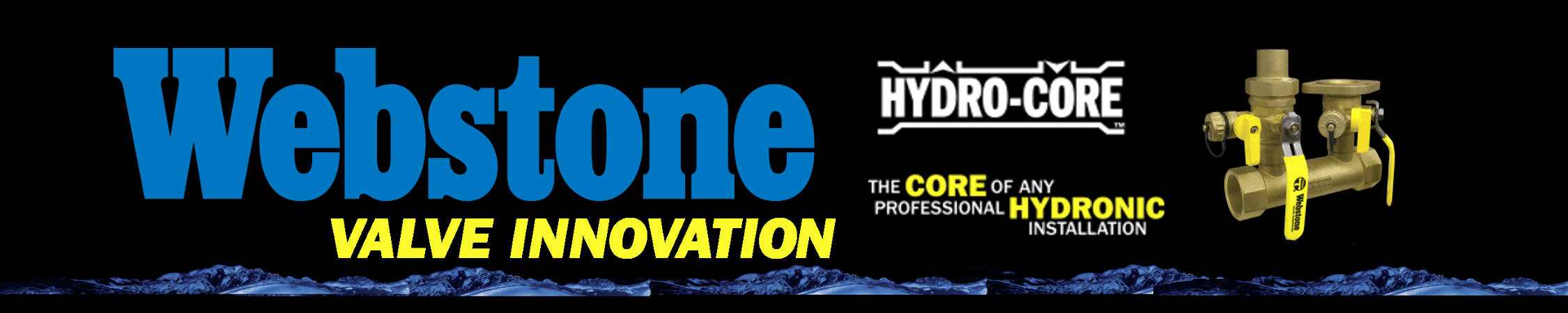 Webstone Hydro-Core homepage slider