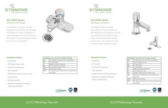 Symmons SCOT Metering Faucet inside