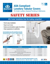 Oatey Dearborn Brass ADA Compliant Tubular Covers sell sheet front