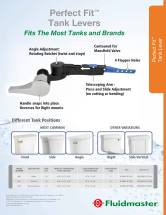 Fluidmaster Perfect Lever Sell Sheet Back