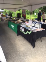 NESA and Caleffi display next to each other Saranac Lake