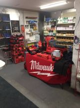 Milwaukee Counter Day Set Up