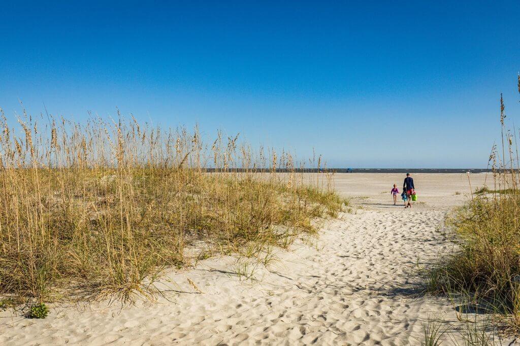 Wild Dunes Condo beach path