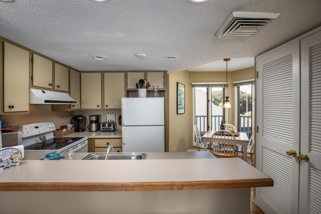 Wild Dunes Condo Kitchen
