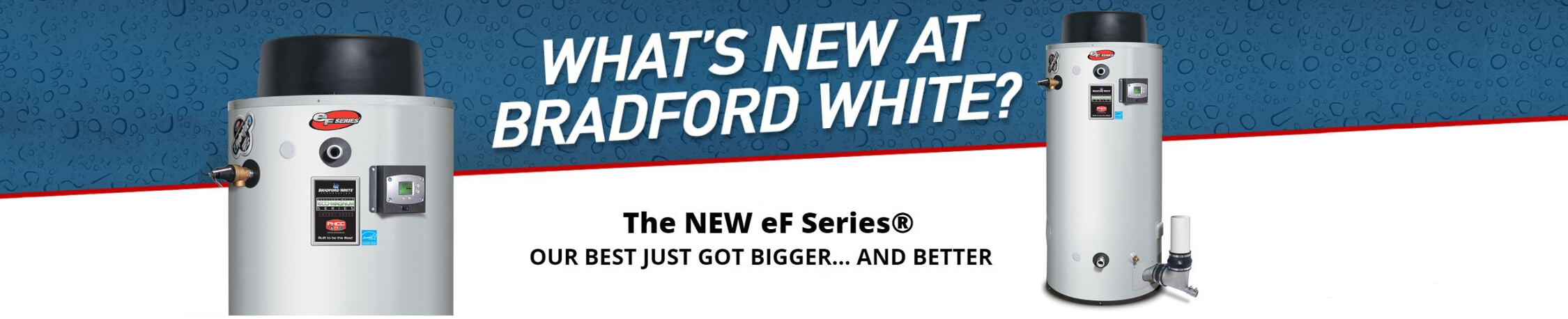 Bradford White EF120 website banner