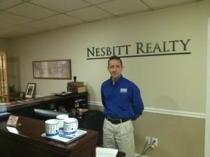 Kelly Nesbitt at the office