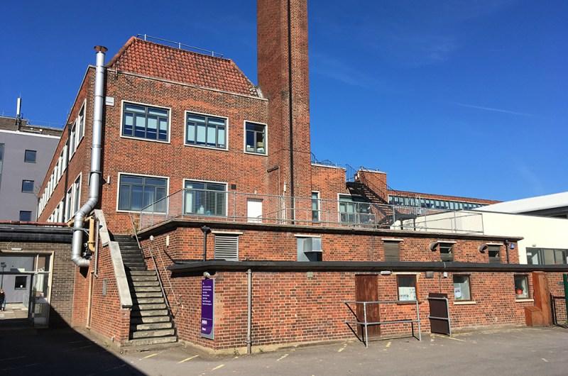 nescot filming location epsom surrey 1950s building