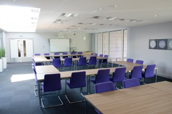 board room office contemporary interior