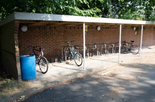 Film location nescot ewell epsom surrey college bike shed 1960s