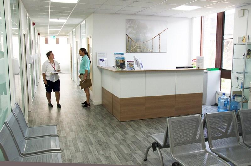 Film location nescot ewell epsom clinic reception