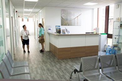 clinic reception seating contemporary