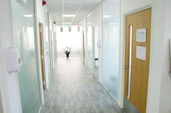 clinic treatment walkway contemporary 2