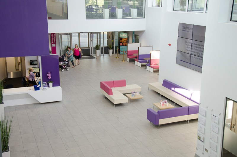 Film location nescot ewell epsom reception area