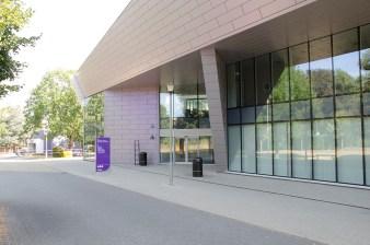contemporary reception walkway building 6
