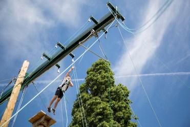 high ropes climbing sporting