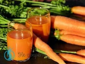 Рецепт ботокс-маски с морковным соком